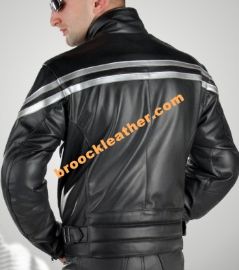 Jaket kulit Bikers MB030