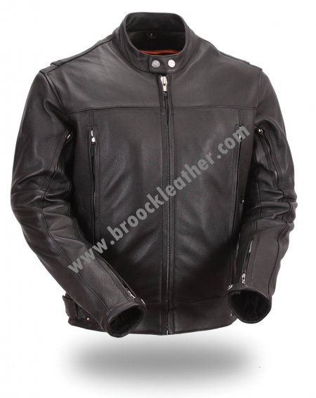 Jaket Kulit Bikers MB039