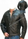 Jaket Kulit Bikers MB038